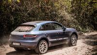 Porsche Macan Seite Hinten Rechts