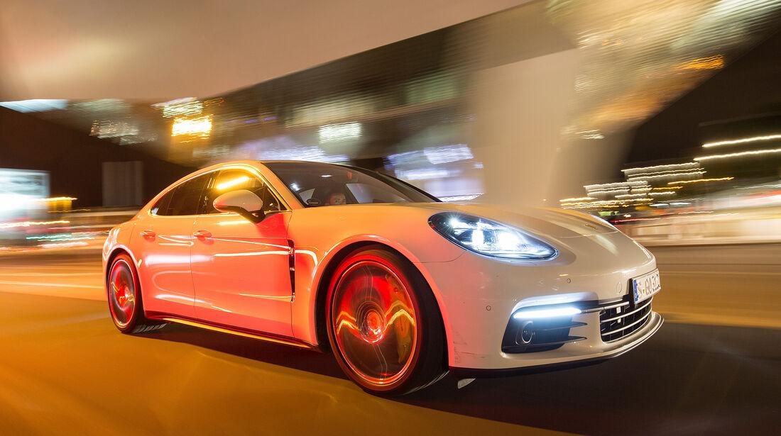 Porsche Panamera 4S, Frontansicht