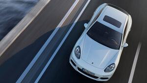 Porsche Panamera Plug-in-Hybrid, Draufsicht