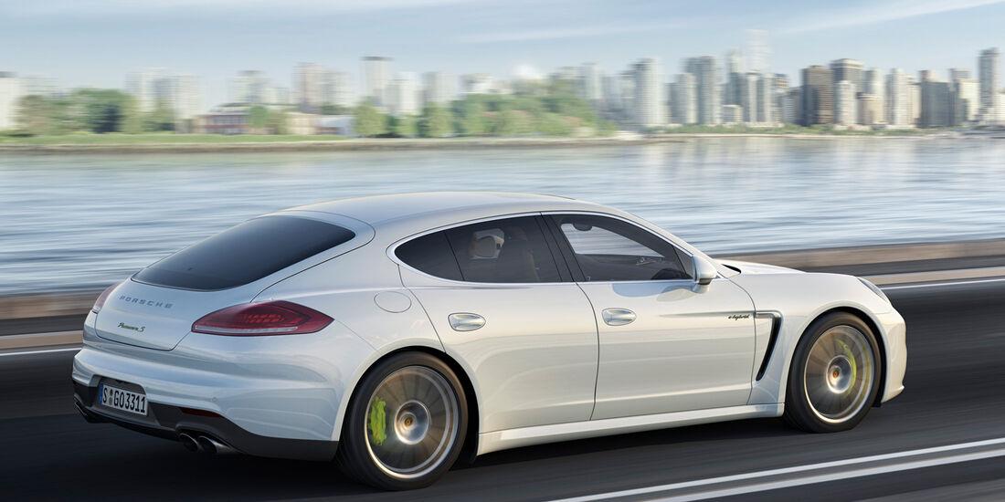 Porsche Panamera Plug-in-Hybrid, Seitenansicht