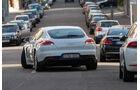 Porsche Panamera S E-Hybrid, Heckansicht, Einparken