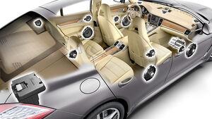 Porsche Panamera-Soundsystem