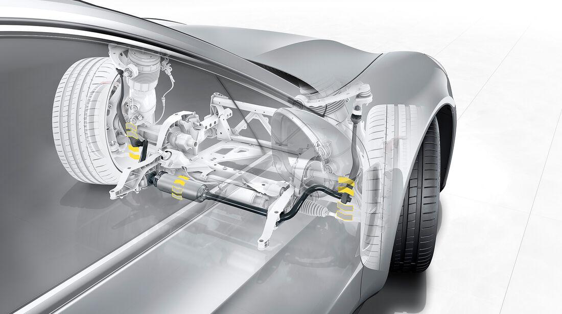 Porsche Panamera Turbo: PDCC Sport (Porsche Dynamic Chassis Control Sport)