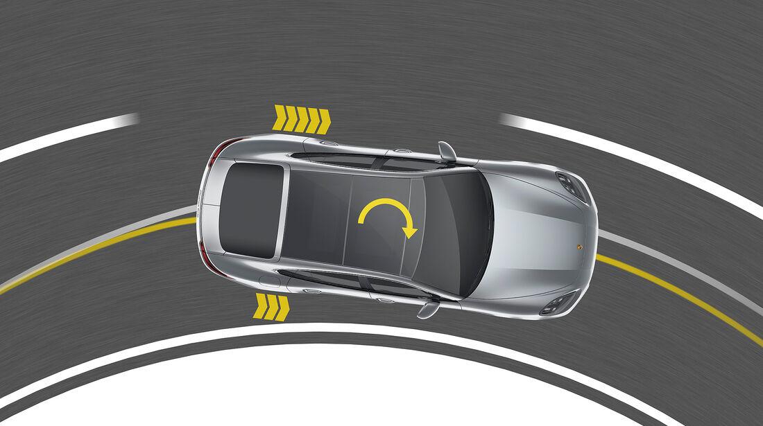 Porsche Panamera Turbo: Porsche Torque Vectoring Plus (PTV Plus)