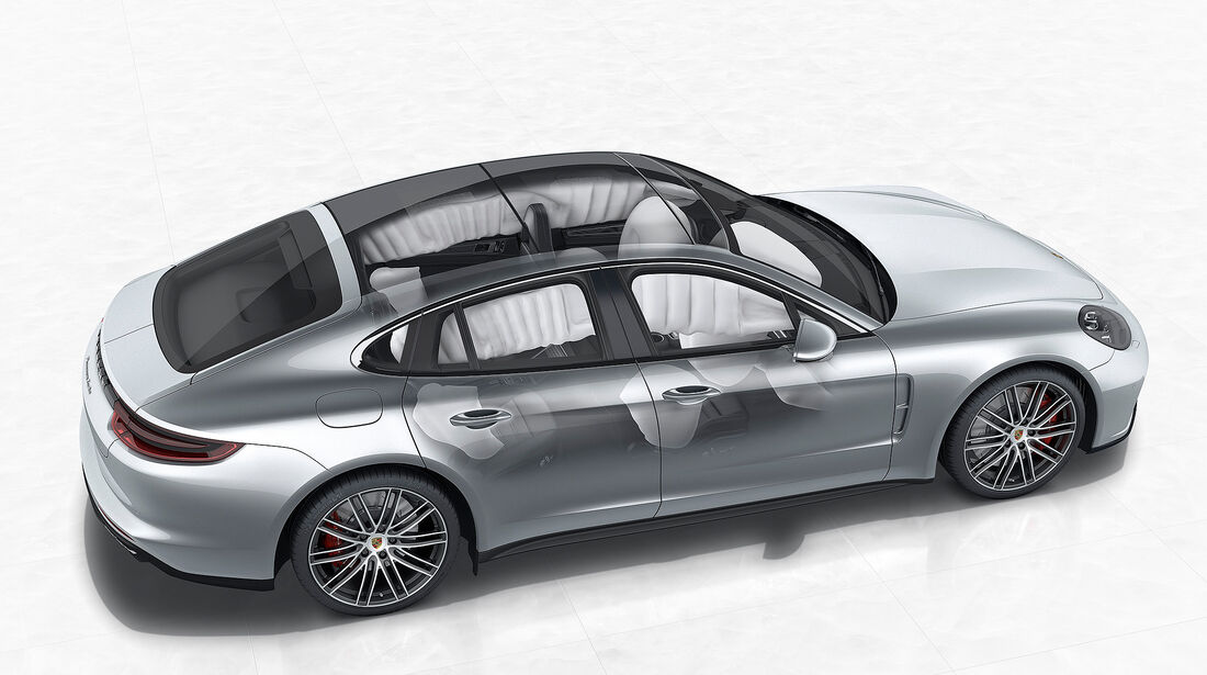 Porsche Panamera Turbo: Side Impact Protection System (POSIP)
