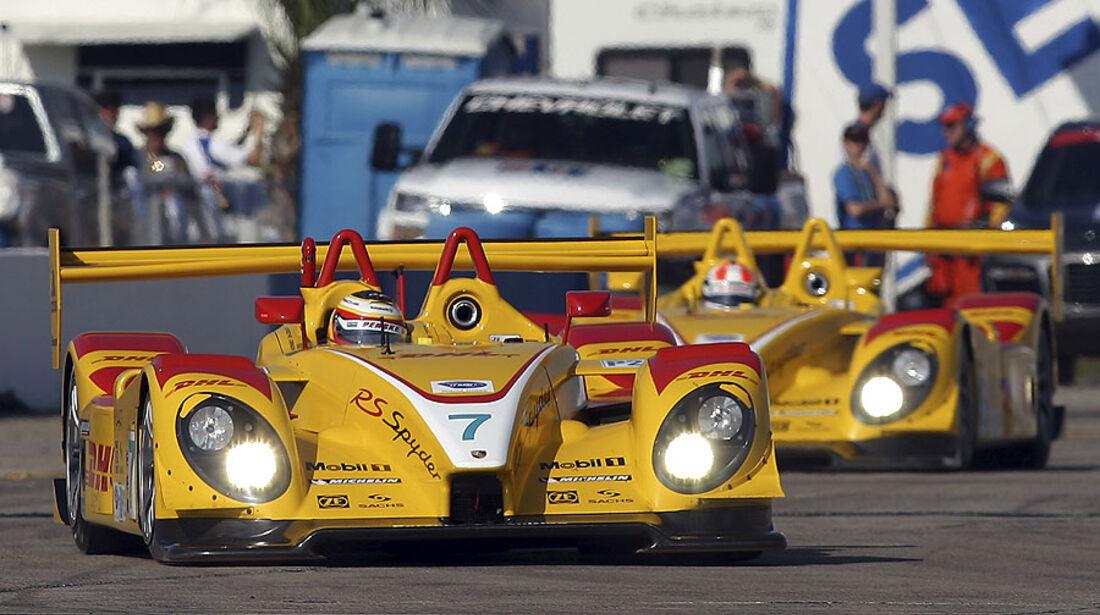 Porsche RS Spyder, ALMS, American Le Mans Series