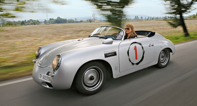 Porsche-Restaurierer, Corato, Reportage, Italien