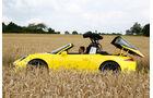 Porsche Targa 4S, Verdeck öffnet, Targadach