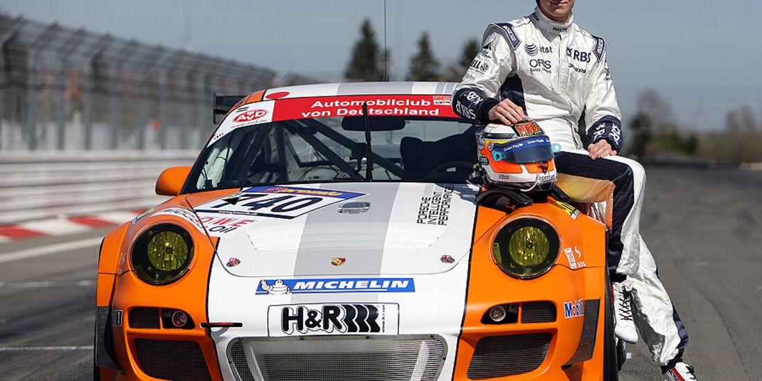Porsche Test Nico Hülkenberg Nordschleife