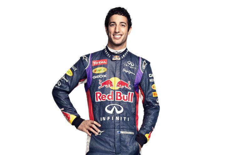 Porträt Daniel Ricciardo - Formel 1 2014