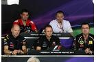 Pressekonferenz - GP Ungarn - Formel 1 - 29.7.2011
