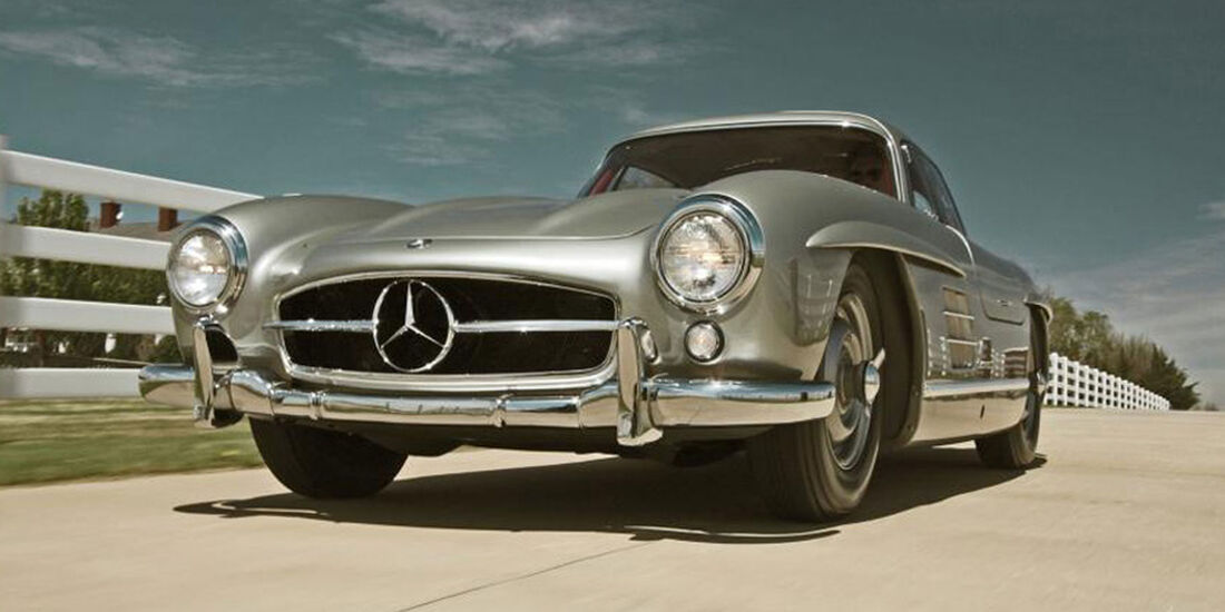 Promi-Autos 2018 Mercedes 300 SL (1955) Clark Gable