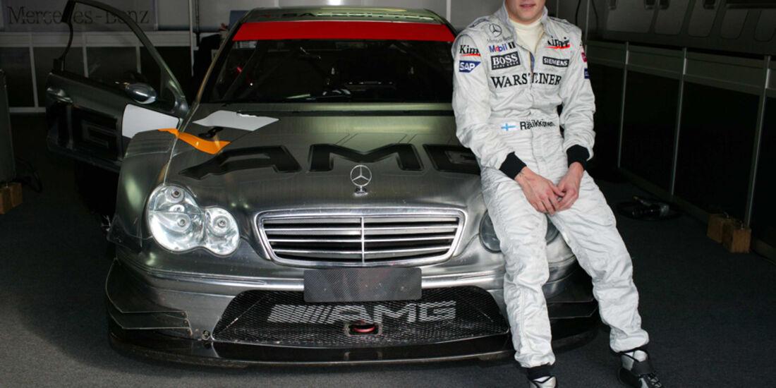 Räikkönen DTM Mercedes 2004