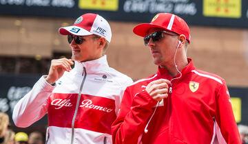 Räikkönen & Ericsson - Formel 1 - 2018
