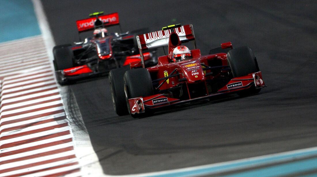 Räikkönen GP Abu Dhabi 2009