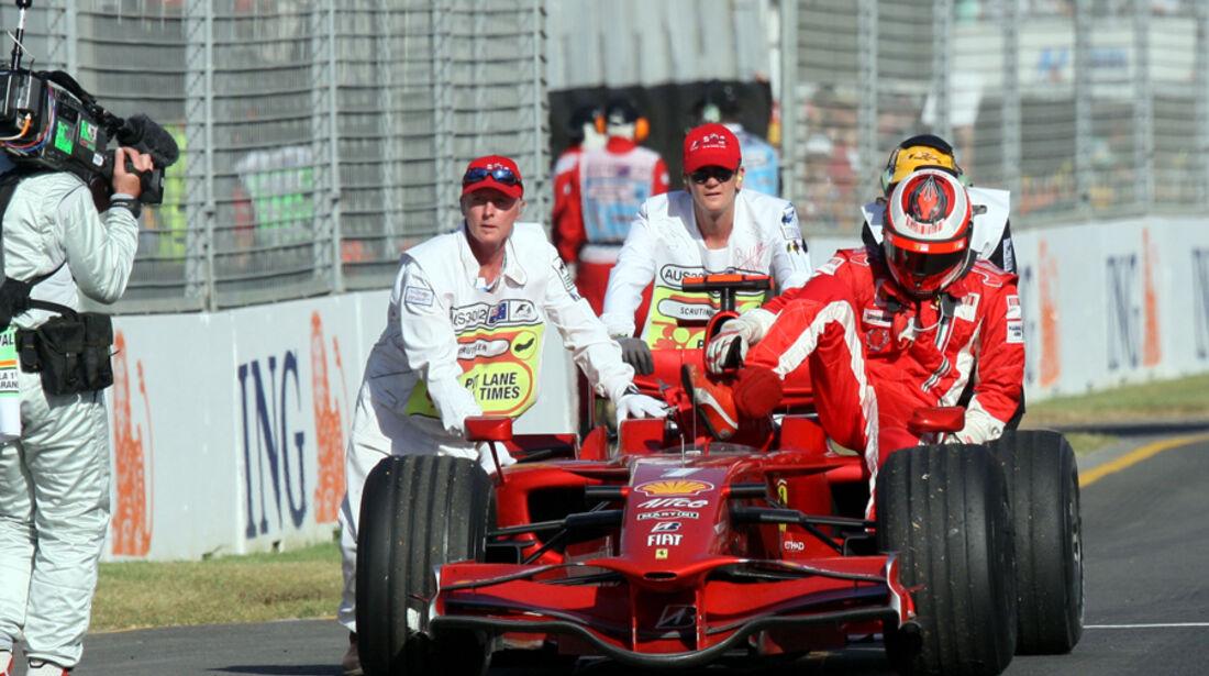Räikkönen GP Australien 2008