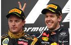 Räikkönen & Vettel F1 Fun Pics 2012