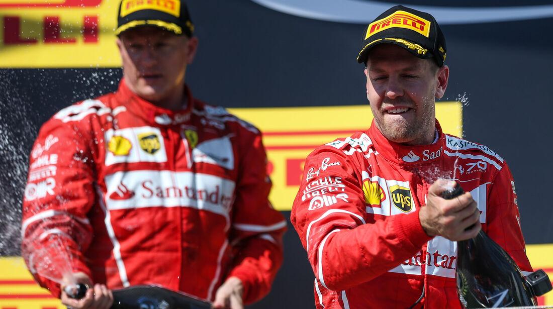 Räikkönen & Vettel - GP Ungarn 2017