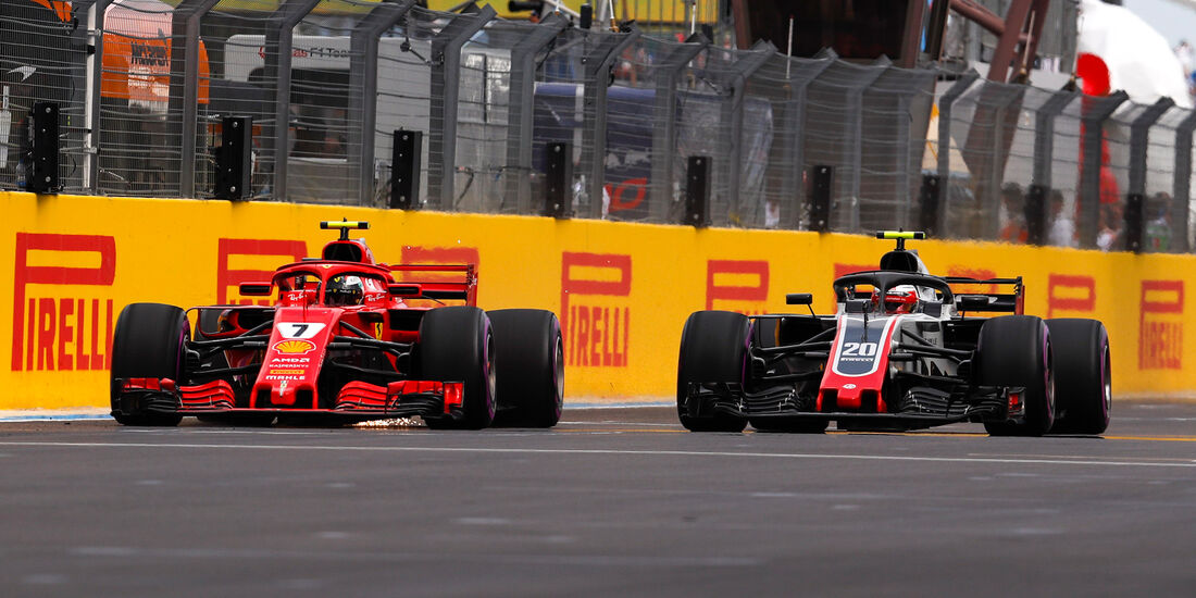 Räikkönen vs. Magnussen - Formel 1 - GP Frankreich - Circuit Paul Ricard - Le Castellet - 23. Juni 2018