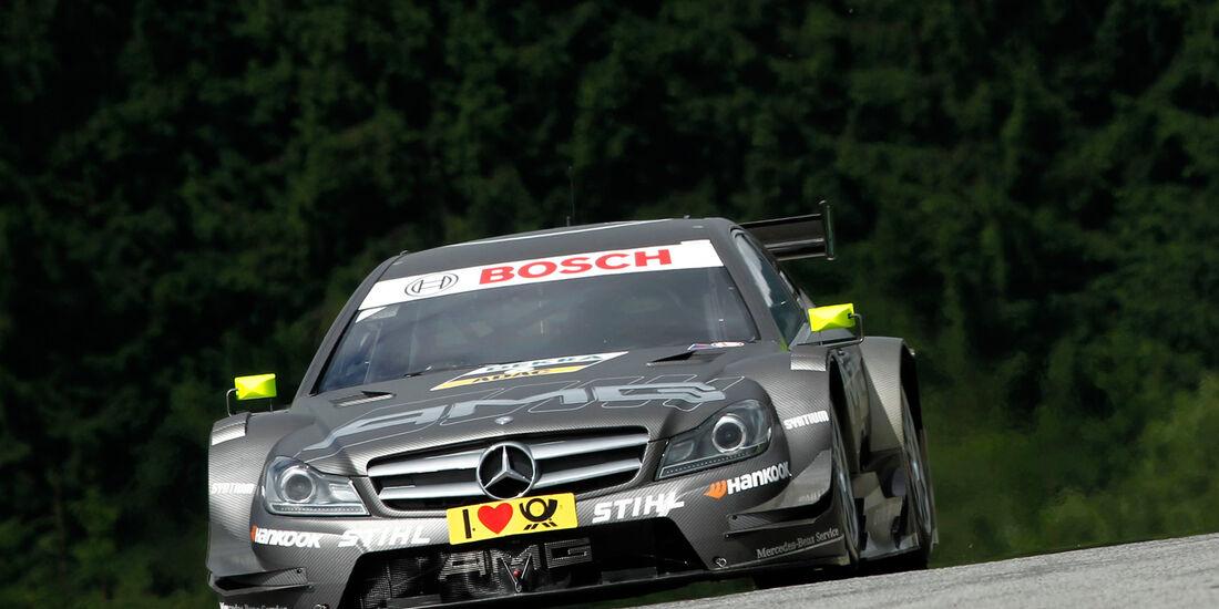 Ralf Schumacher Mercedes DTM Spielberg 2012