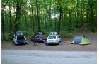Rallye Allgäu-Orient, Camping