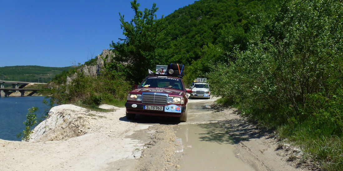 Rallye Allgäu-Orient, Sandstraße, Meer