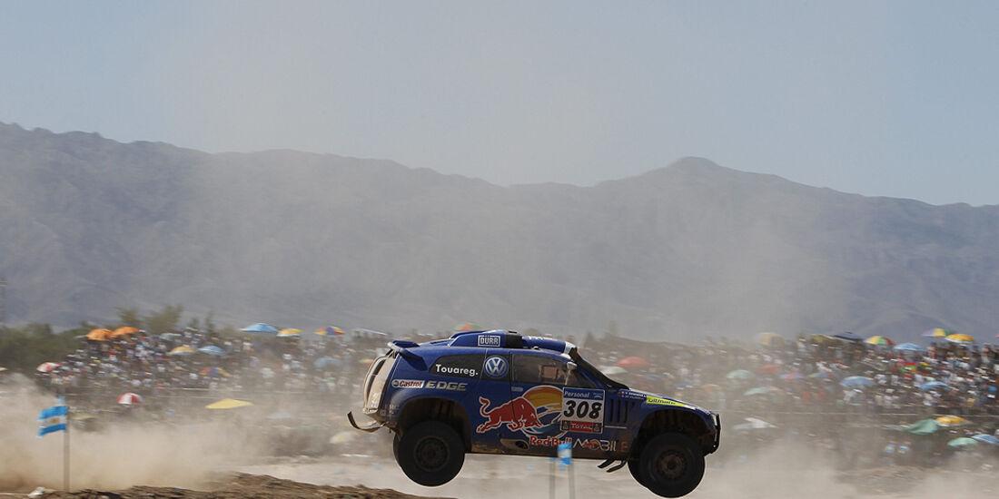 Rallye Dakar 2011, Giniel de Villiers, VW Race Touareg