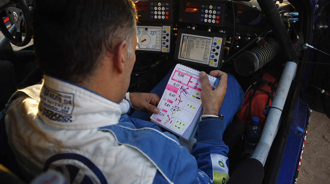 Rallye Dakar 2011, Lucas Cruz, VW Race Touareg