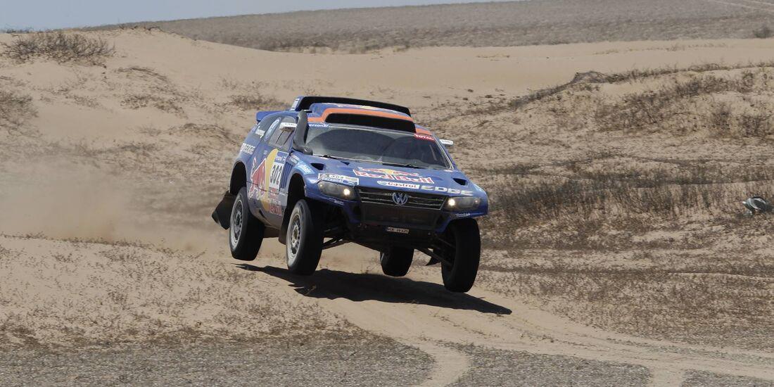 Rallye Dakar 2011, Nasser Al-Attiyah, VW Race Touareg