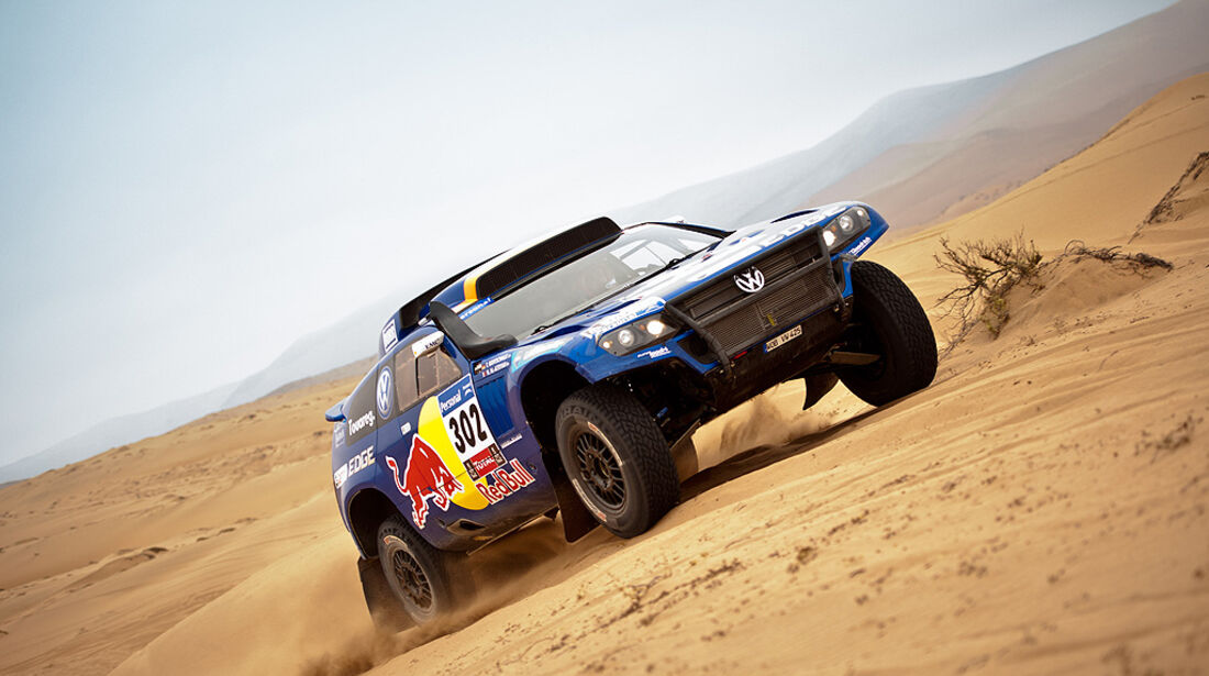 Rallye Dakar 2011, Nasser Al Attiyah, VW Race Touareg