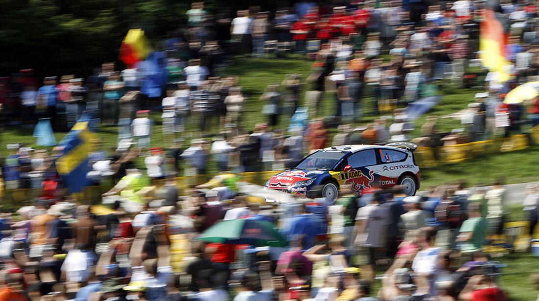Rallye Deutschland 2010, Citroen C4 WRC, Ogier