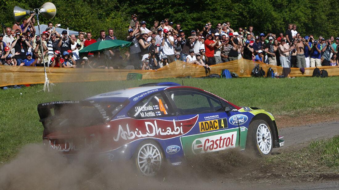 Rallye Deutschland 2010, Ford Focus RS WRC, Latvala