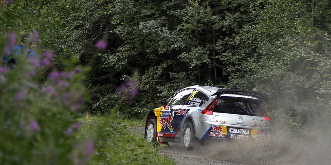 Rallye Finnland 2010, Räikkönen, Citroen C4 WRC