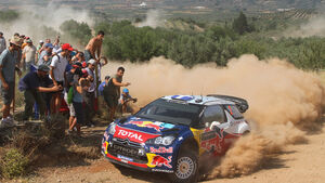 Rallye Griechenland 2011 Sebastien Ogier