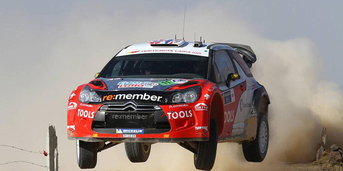 Rallye Mexiko 2011, Petter Solberg, Citroen DS3 WRC
