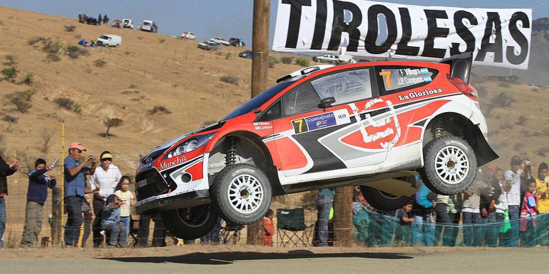Rallye Mexiko 2011, Villagra, Ford Fiesta WRC