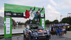 Rallye Mexiko 2015 - Sebastien Ogier - Julien Ingrassia - VW