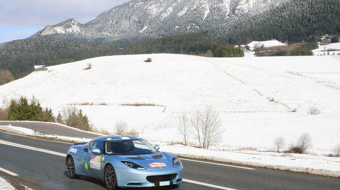 Rallye Monte Carlo alternative Antriebe, 2010