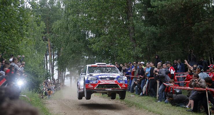 Rallye Polen 2009, Holowczyc, Stobart Ford Focus WRC
