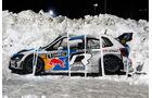 Rallye Schweden 2014 - Volkswagen Schnee-Grafitti