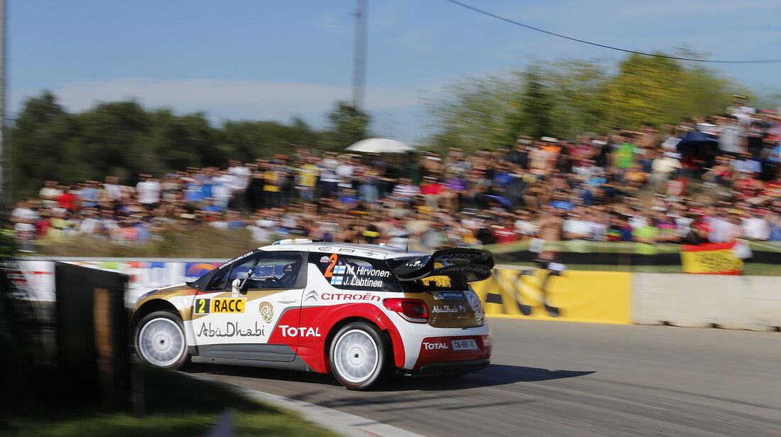 Rallye Spanien, Hirvonen,Citroën