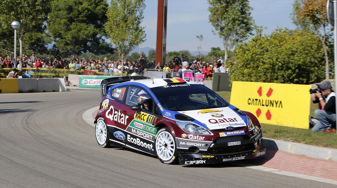 Rallye Spanien, Neuville, Ford Fiesta RS