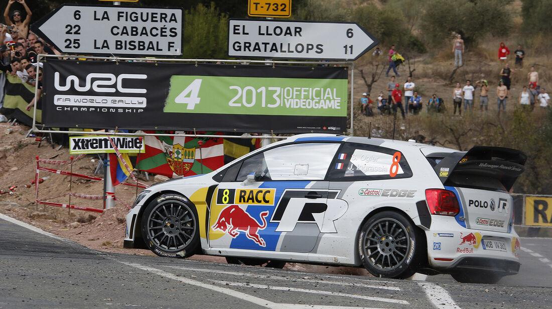Rallye Spanien, Ogier, VW Polo