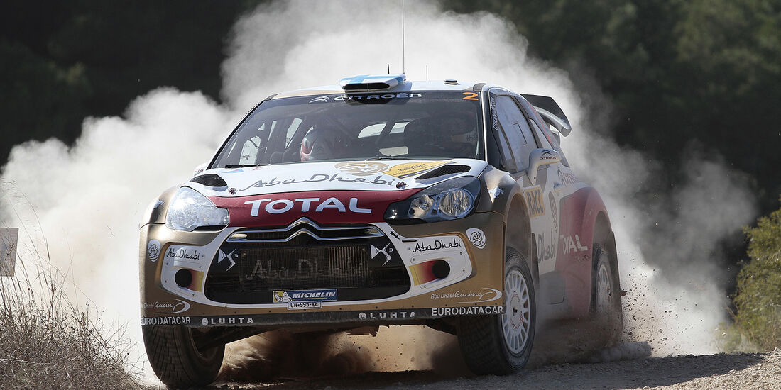 Rallye Spanien, Tag 3, Hirvonen, Citroen