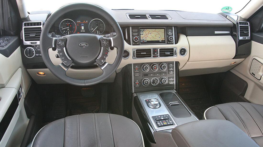 Range Rover 4.4 TDV8 Vogue, Innenraum, Cockpit