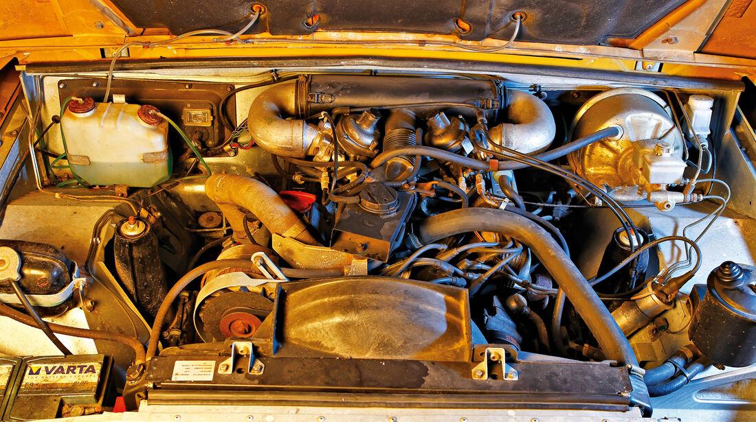 Range Rover Classic, Motor