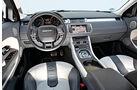 Range Rover Evoque 2.2 SD, Cockpit, Lenkrad