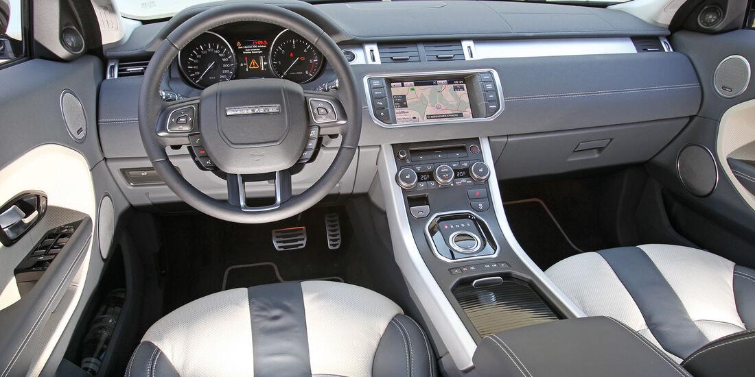 Range Rover Evoque 2.2 eD4 2WD, Cockpit