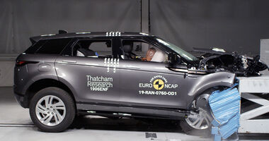 Range Rover Evoque 2019 Crashtest