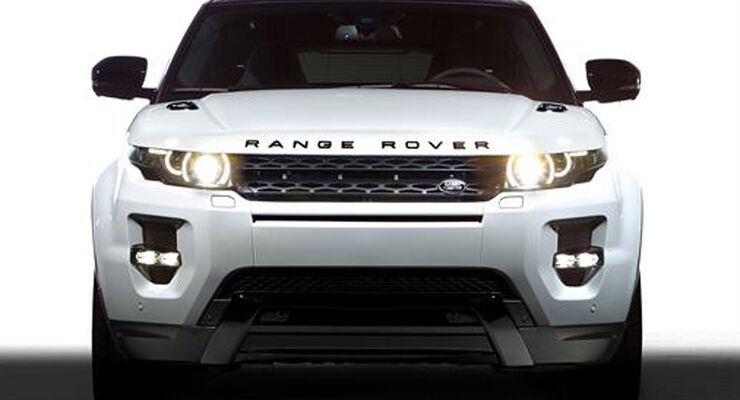 Range Rover Evoque Black Design
